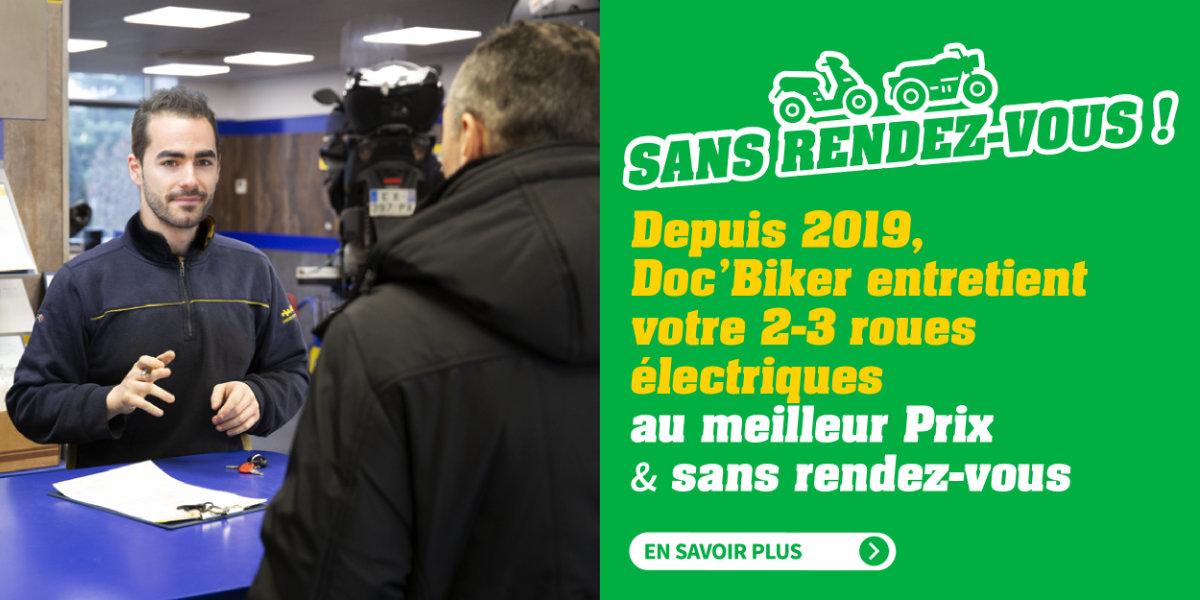 Doc'Biker : Spécialiste de l'entretien et de la réparation moto et scooter électrique