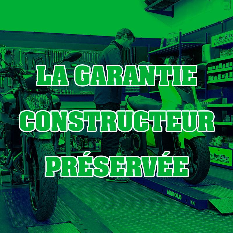 La garantie constructeur préservée