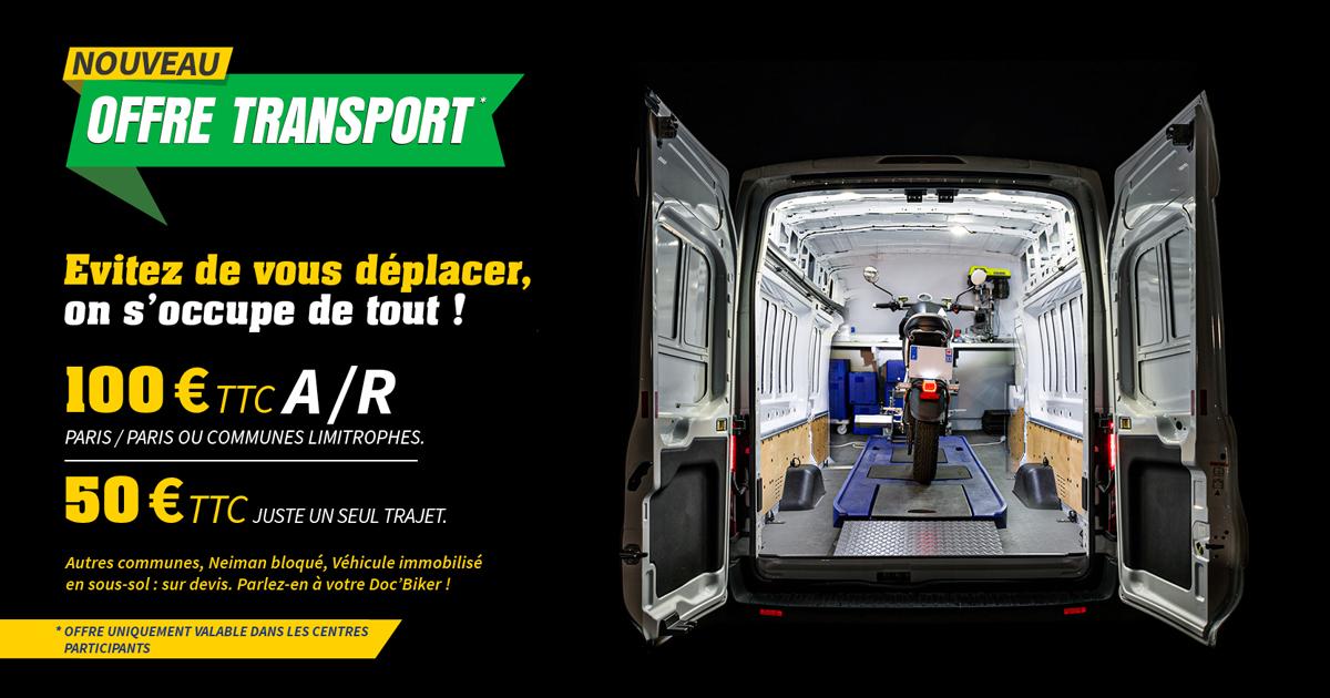Nouveau offre transport thermique