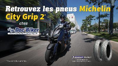 Michelin City Grip 2 chez Doc'Biker
