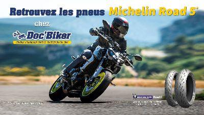 Michelin Road 5 chez Doc'Biker