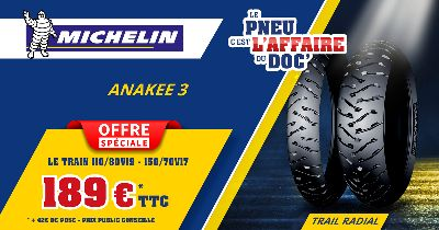 Offre Spéciale MICHELIN ANAKEE 3 2021