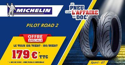 Offre Spéciale Michelin PILOT ROAD 2 - 2021